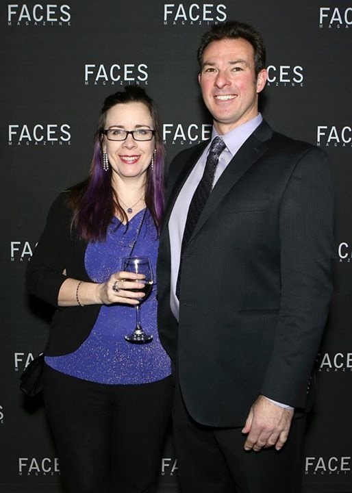 Dave and Wendy Faces award 2015