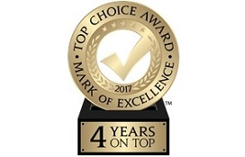 Top Choice Award Ottawa Plumbing 2017