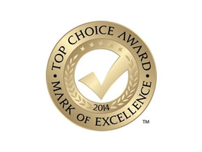 DS Plumbing wins 2014 Top Choice Award for bestplumbing services Ottawa